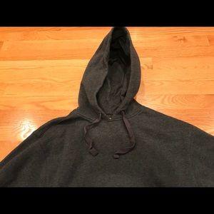 Champion Gray Hooded Sweatshirt